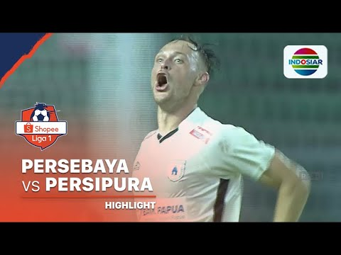 Highlights - Persebaya 3 vs 4 Persipura | Shopee Liga 1 2020