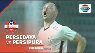 Highlights - Persebaya 3 Vs 4 Persipura | Shopee Liga 1 2020