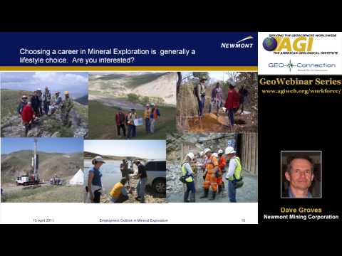 Geoscience Careers in Minerals Exploration