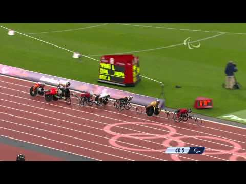 Athletics - Men's 800m - T53 Final - London 2012 Paralympic Games