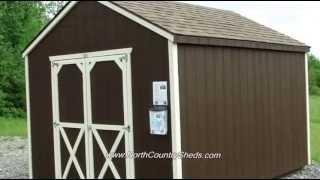 10' X 12' Garden Sheds | Storage Sheds | Backyard Sheds | Ottawa | Belleville | Kingston