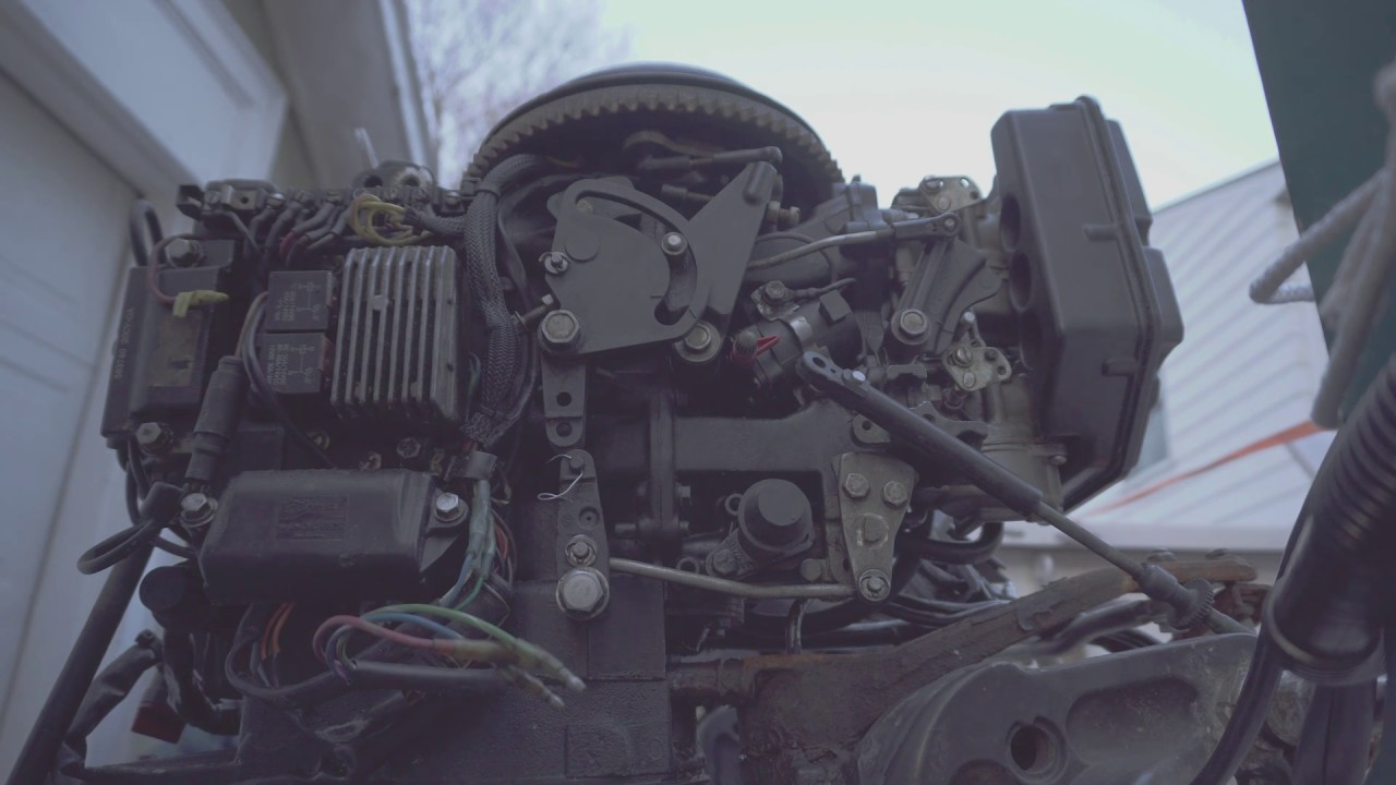 small resolution of outboard control cable adjustment for shifting gears forward reverse