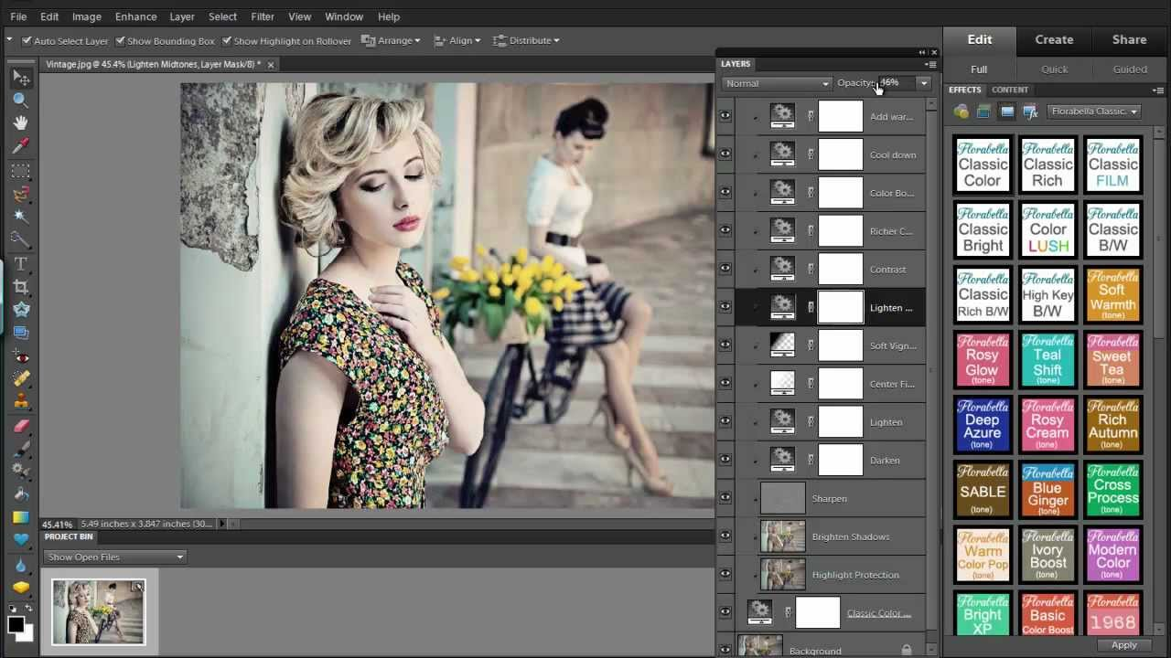 How to Use Photoshop Actions in Photoshop Elements