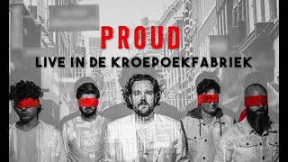 Marvin Dee Band - Proud (Livestream vanuit de Kroepoekfabriek)
