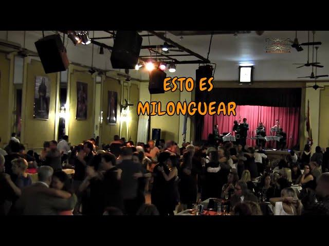 Gratos recuerdos. Milongueando con orquesta de tango, Herederos del compás.