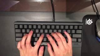 [Typing Sound] HHKB Pro 2 Black (Topre)