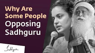 Why Are Some People Opposing You? Kangana Asks Sadhguru