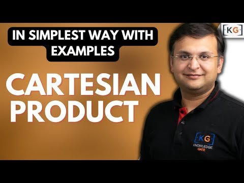 Part 7 8 Cartesian Product or Cross Product operator in relational