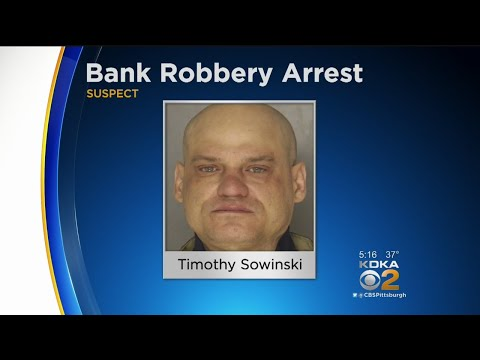 Police Arrest Suspect In Downtown, Shadyside Bank Robberies