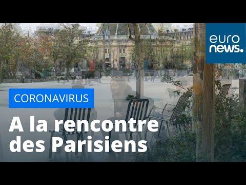 En France, la vie sous confinement