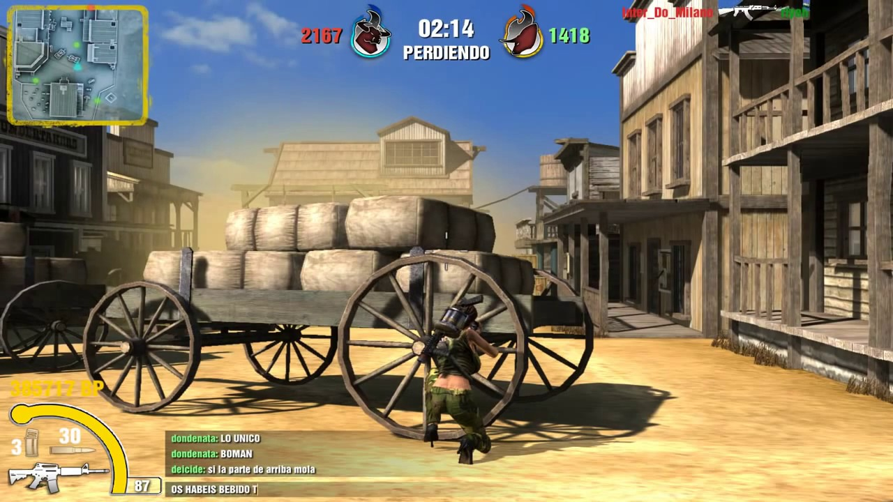 ✭✭✭✭✰ GamePlay Torrente Online 2, Freak Wars en el Oeste (Matadero Springs)