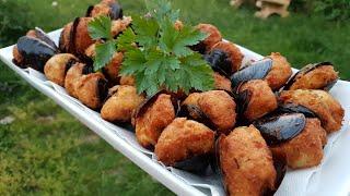 Cozze tarantine ripiene fritte