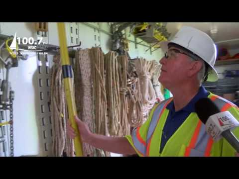 Tools For The Job - WSIC Learns About Gear Used By Electric Utilities Linemen