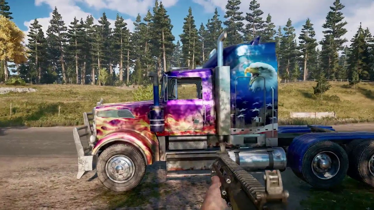 Far Cry 5 Customised Vehicle