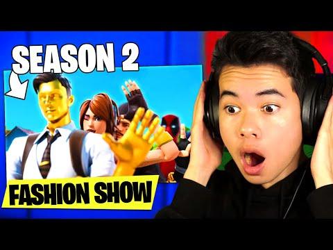 I hosted a Season 2 Battlepass FASHION SHOW! (New Outfits)