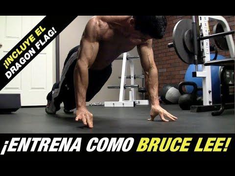 La Rutina de Entrenamiento de Bruce Lee (¡INCLUYE EL DRAGON FLAG!)