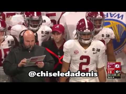 College Football National Championship Game Highlight Commentary (Alabama vs Georgia)