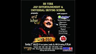 ARIF LOHAR LIVE IN MONTREAL CANADA