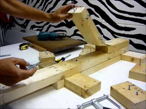 How To Build A Homemade Screen Press Step By Step Youtube