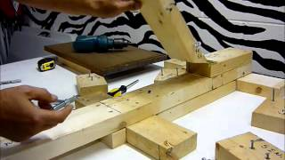how to build a homemade screen press step by step