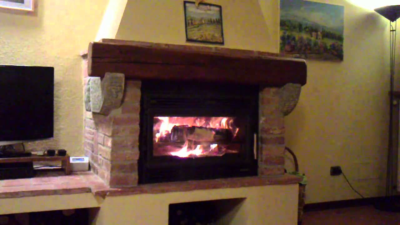 Il mio caminetto palazzetti n70 youtube for Caminetti combinati legna pellet palazzetti
