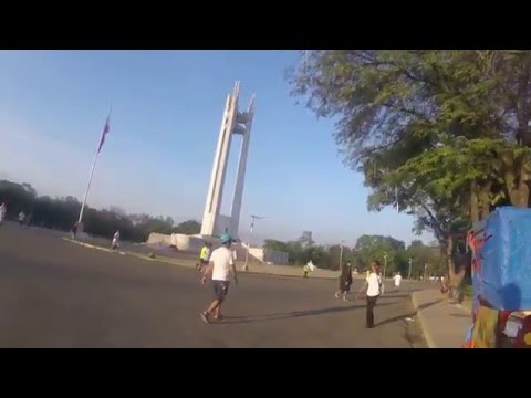 Quezon Memorial Circle Morning Walk 1 - Quezon City Philippines Trip