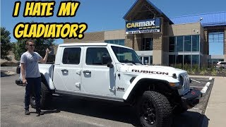 I Took My Brand New 2020 Jeep Gladiator Rubicon to Carmax for an Appraisal