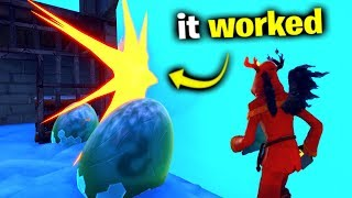 Can You HATCH The Dragon Eggs? (Fortnite)