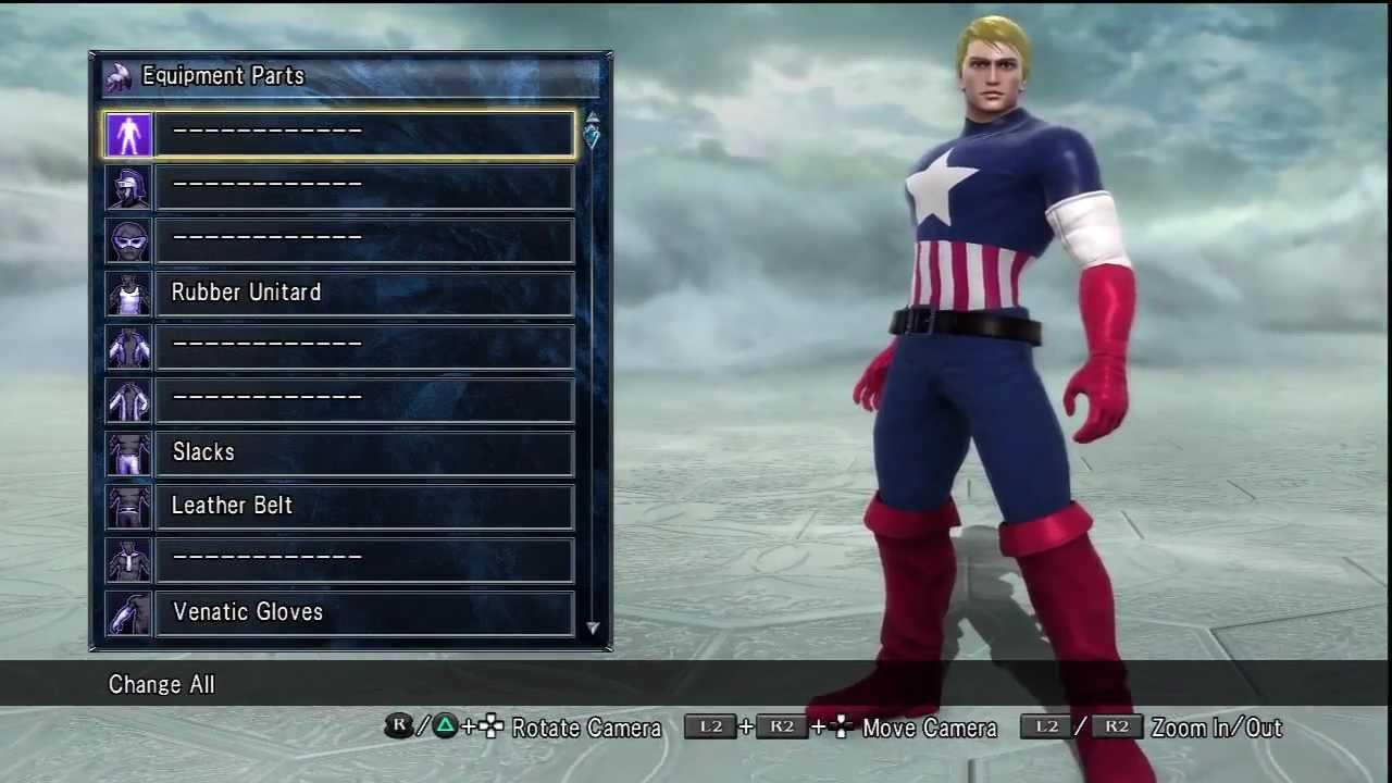 Soul Calibur 5 Captain America Steve Rogers Character