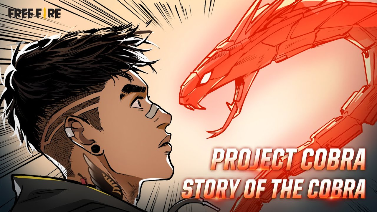 Animated Comic: Legendary Cobra Rage Bundle | Garena Free Fire