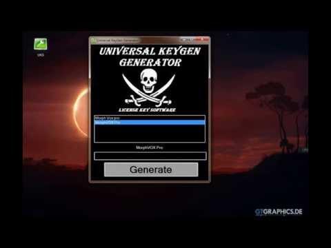 Universal Keygen Generator - Ключи для программ и игр