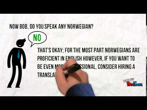 norwegian business culture Here's one key part of norwegian culture: do anything to get a job in government that way, you'll be set for life - you can never get fired, have no.