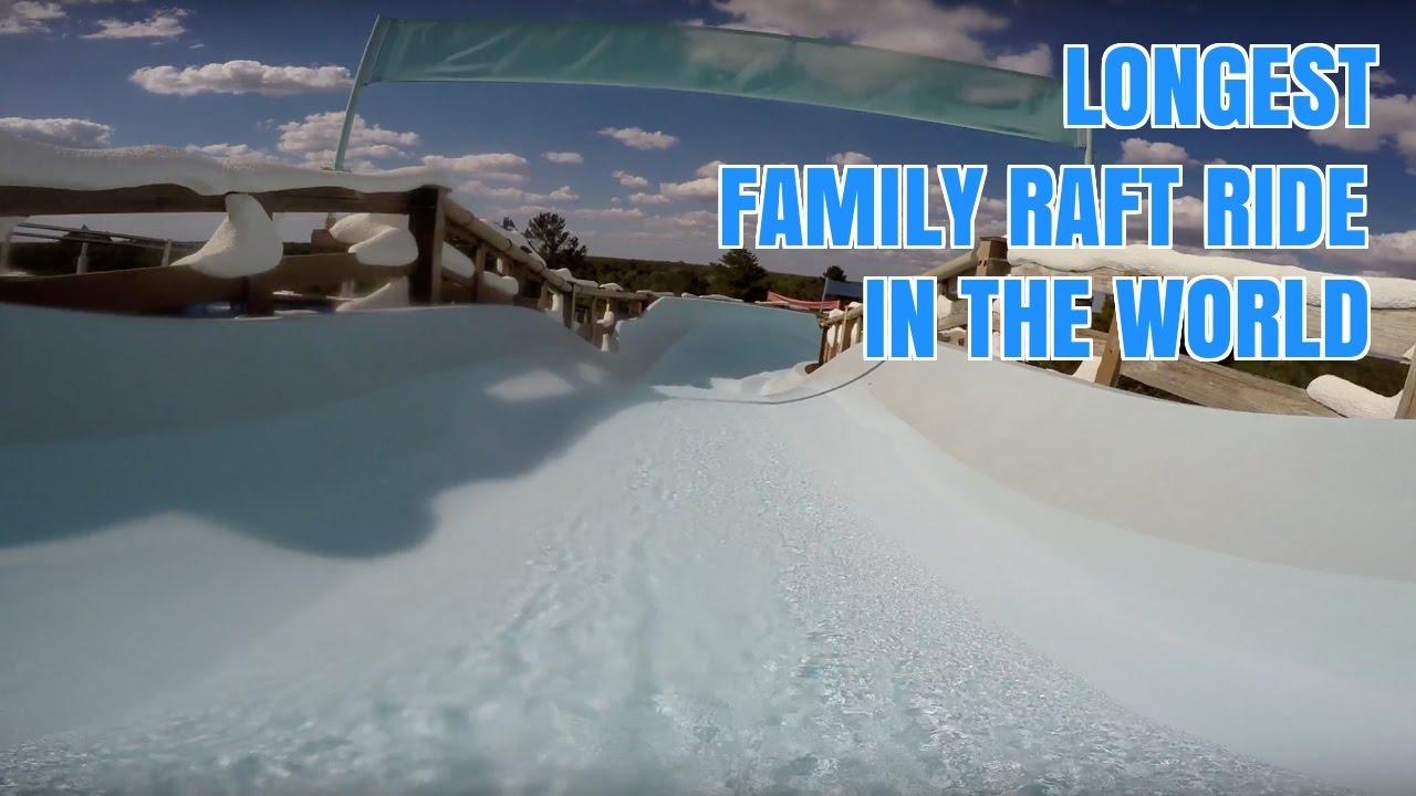 Teamboat Springs World S Longest Family Raft Ride Pov Disney Blizzard Beach Water Park