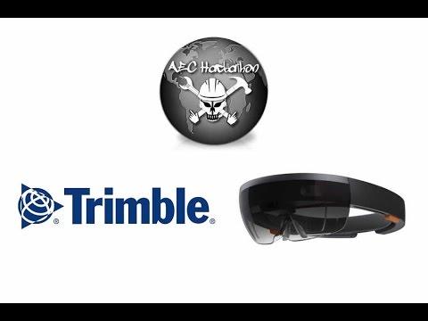 AEC Hackathon 3.2 - Microsoft HoloLens & Trimble