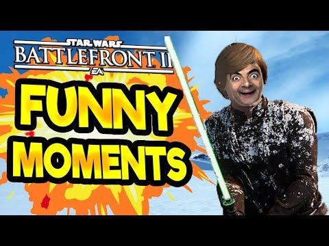Star Wars Battlefront 2 Funny & Random Moments [FUNTAGE] #58 thumbnail