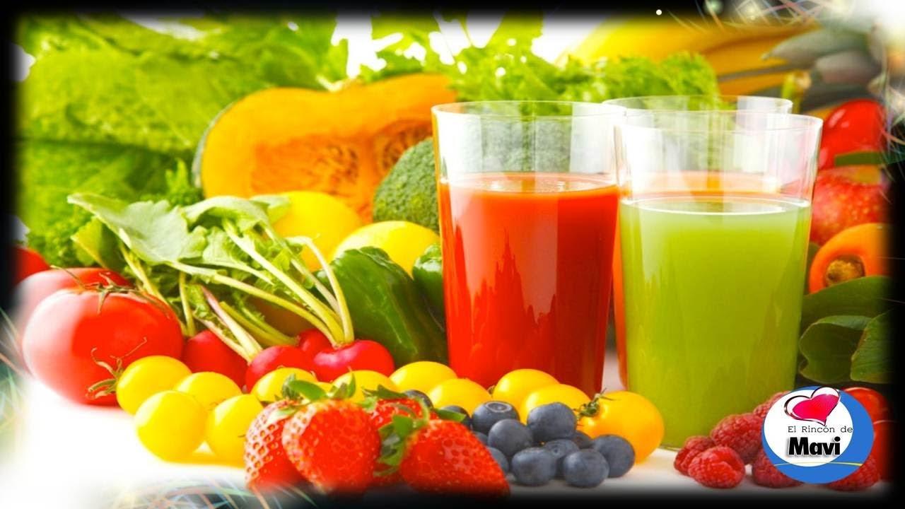 Recetas de zumos de frutas para adelgazar