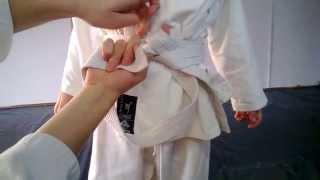 Как завязывать пояс на кимоно(Правильная система завязывания пояса