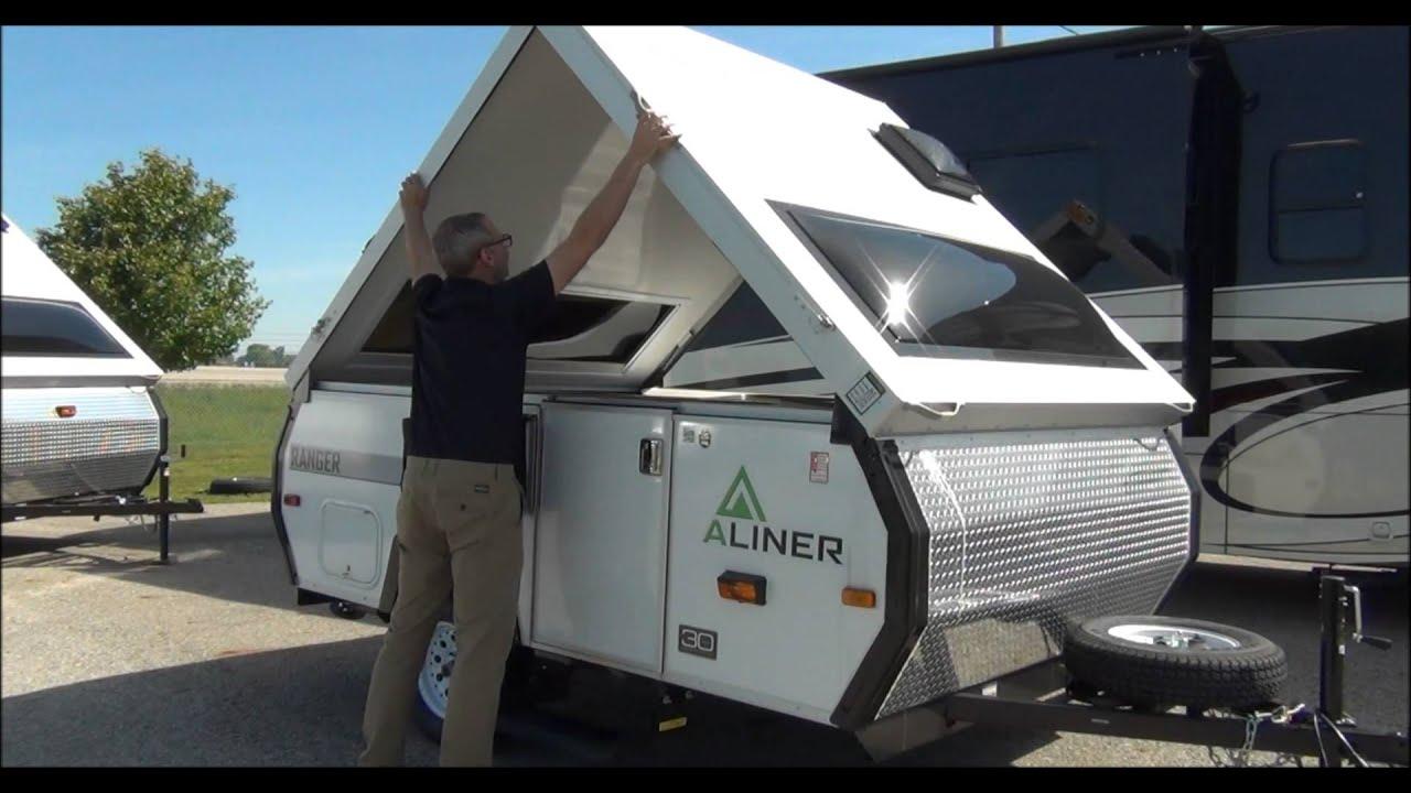 Aliner Pop Up Camper Mount Comfort Rv