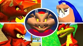 Diddy Kong Racing - Every Boss Race + Cutscenes
