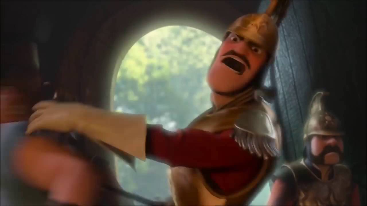 Disney Tangled The Royal Guards Comes Youtube