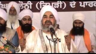 Diwan - Jathedar Sant Baba Kashmira Singh Ji - Alhora Saheb Wale - Day 3 ( 29 10 12 )