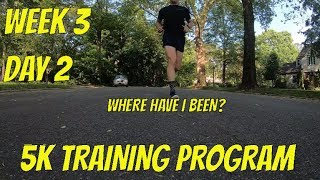 Training for a  5K Race - Week 3, Day 2 - Easy Run after a Busy Week with Family