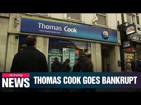 UK tour company Thomas Cook goes bankrupt, leaving travelers stranded