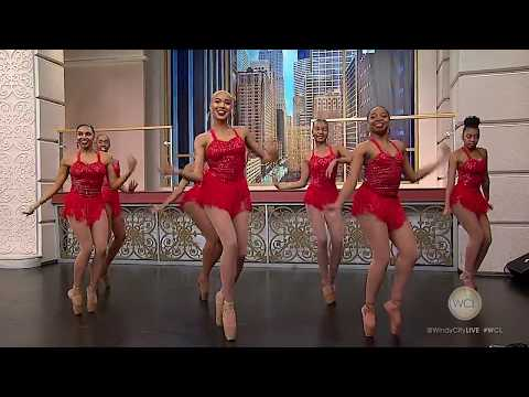Chicago's Hiplet Ballerinas perform