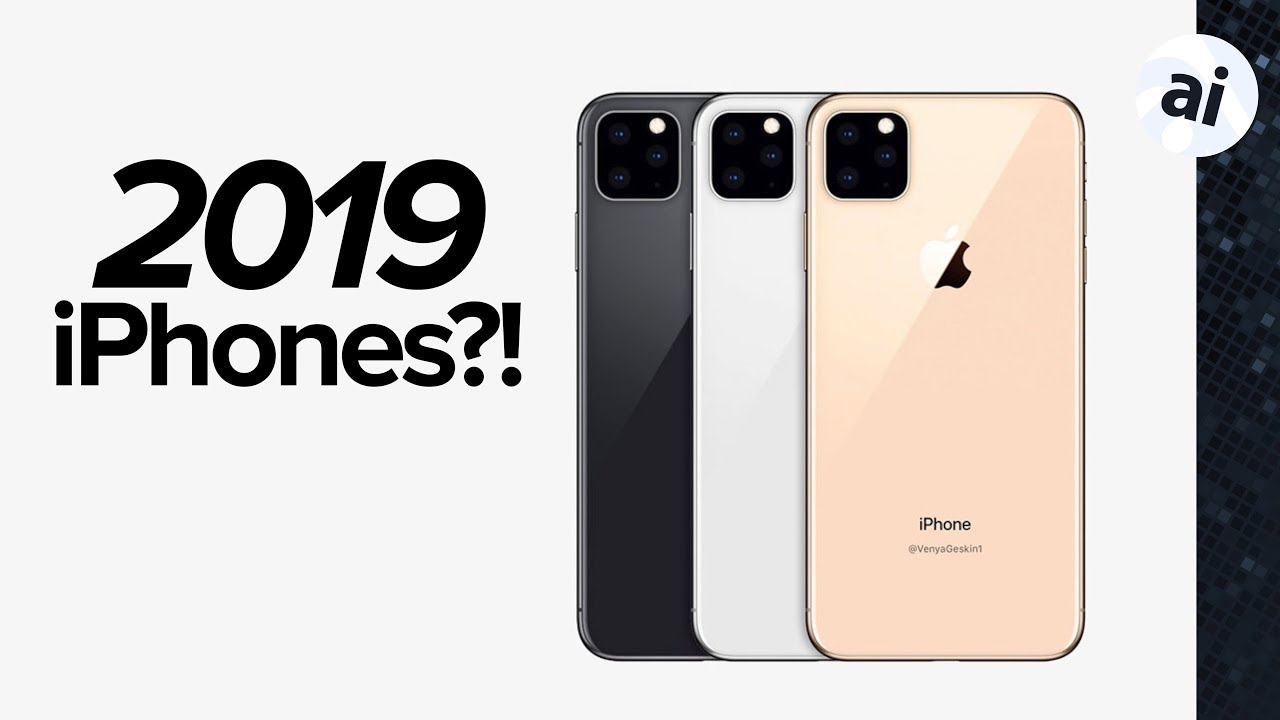 2019 Iphone Rumors Upgraded Face Id Usb C Youtube