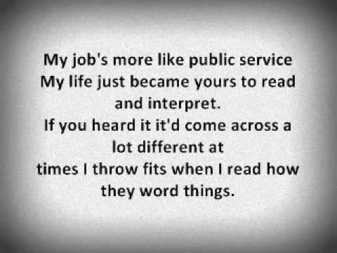 Professor Green - Read All About It (Lyrics On Screen)