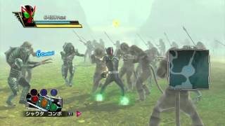 Kamen Rider: Battride War- OOO Gameplay
