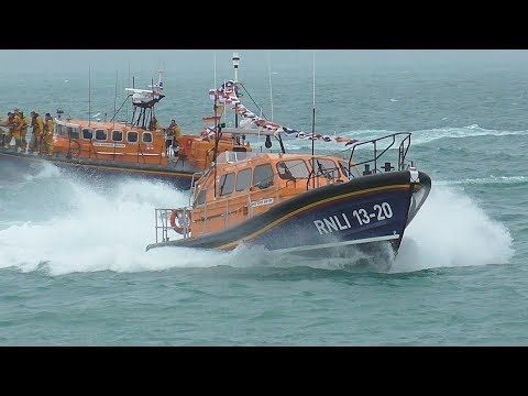New Selsey Lifeboat arriving at Selsey 24th June 2017