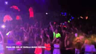 Praia del Sol live at Favella Music Festival 2014 (Haiti)