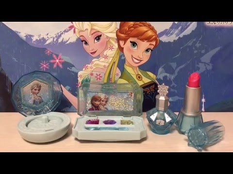 🔱アナと雪の女王🔱Frozenプリンセスメイクアップセット❤️食玩Candy Toys Make,up set